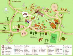 Prescott Pines Camp Map